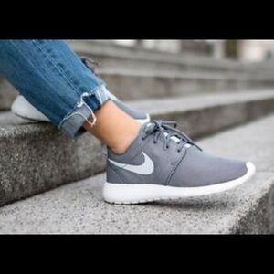 Brand New Women's Nike Roshe One Grey Shoes